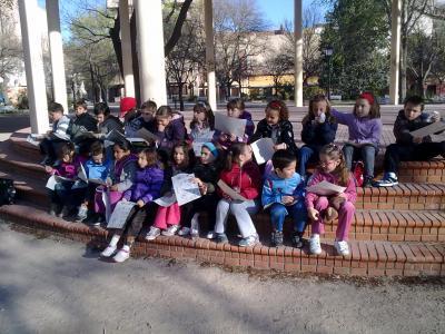 Visitamos el Jardín de los Reyes Católicos. ¡Cuanto aprendimos!